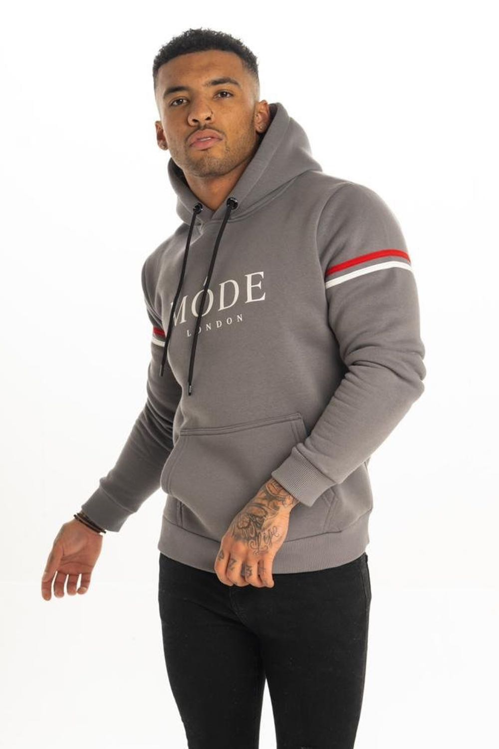 Mode London Mayfair Hoodie - Steel Grey