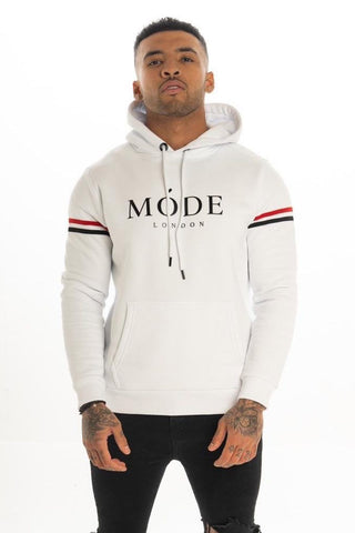 Mode London Mayfair Hoodie - White