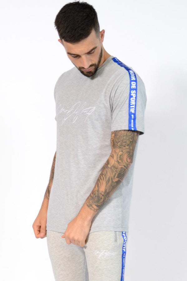 Noir De Sportif Ice T-Shirt - Grey - 1