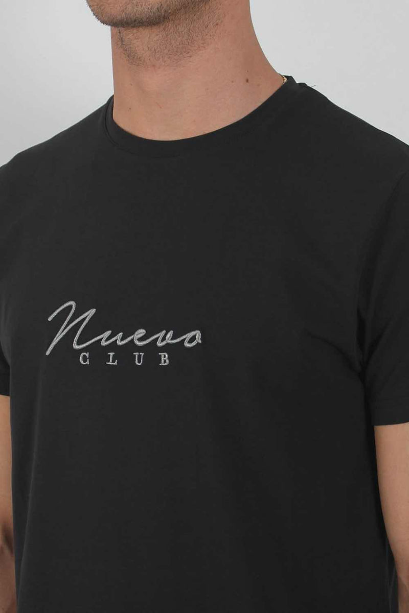 Nuevo Club Core T-Shirt - Black/Grey - 3