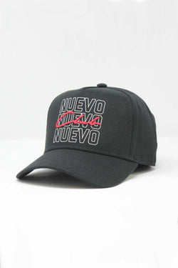 Nuevo Club Morton Trucker Cap - Black/Red