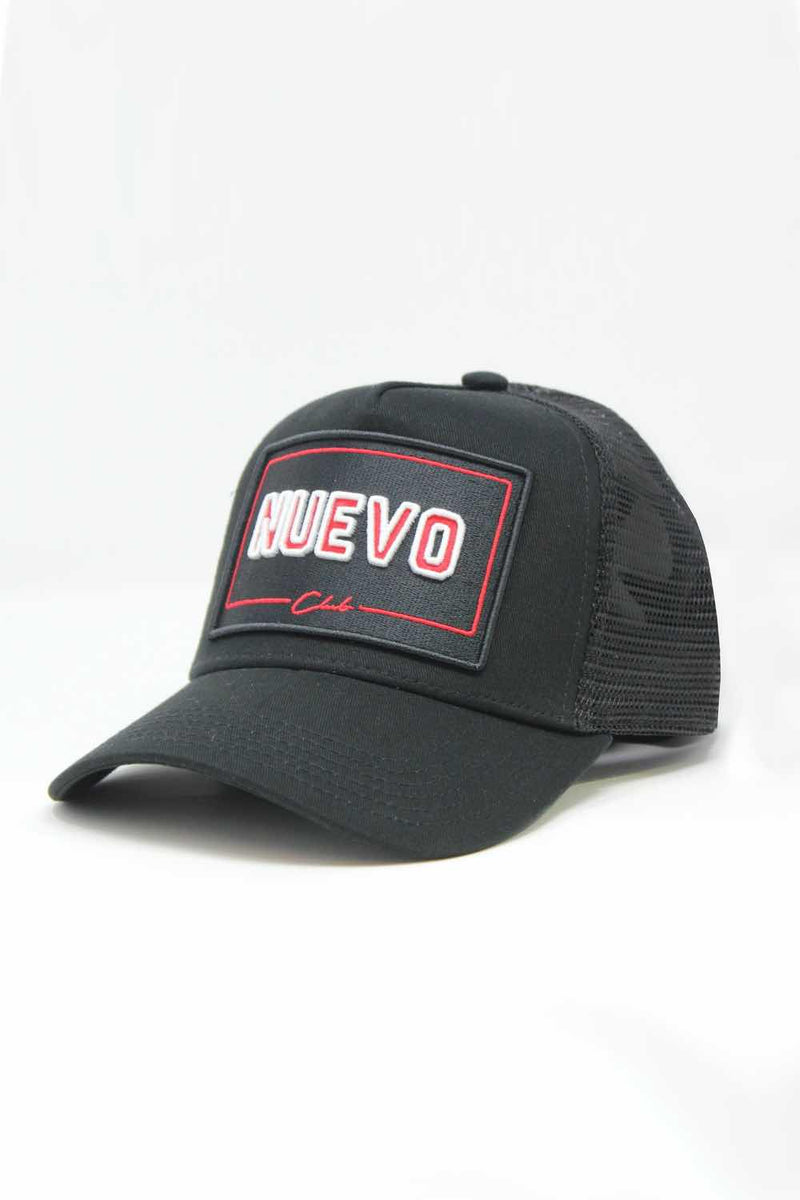 Nuevo Club Mugello Trucker Cap - Black/Red