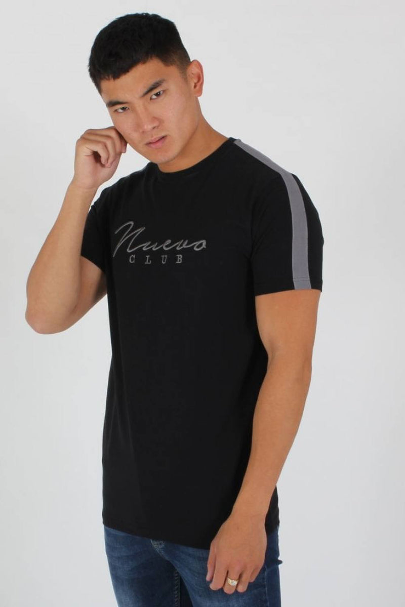 Nuevo Club Signature T-Shirt - Black/Grey - 2