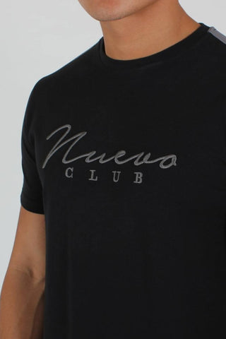 Nuevo Club Signature T-Shirt - Black/Grey - 1