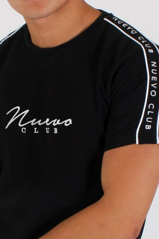 Nuevo Club Signature Taping T-Shirt - Black - 3