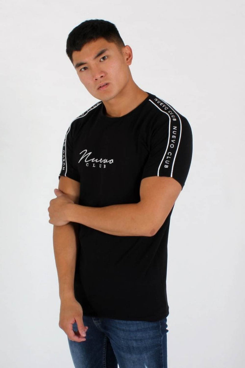 Nuevo Club Signature Taping T-Shirt - Black - 1