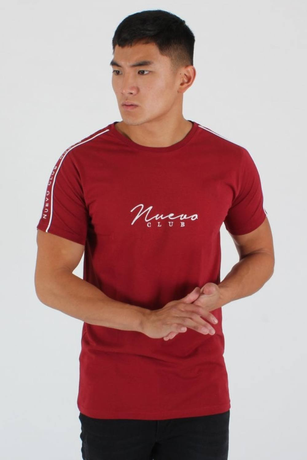 Nuevo Club Signature Taping T-Shirt - Red - 1