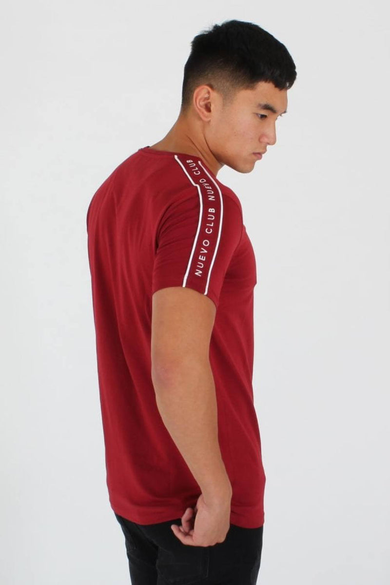 Nuevo Club Signature Taping T-Shirt - Red - 2