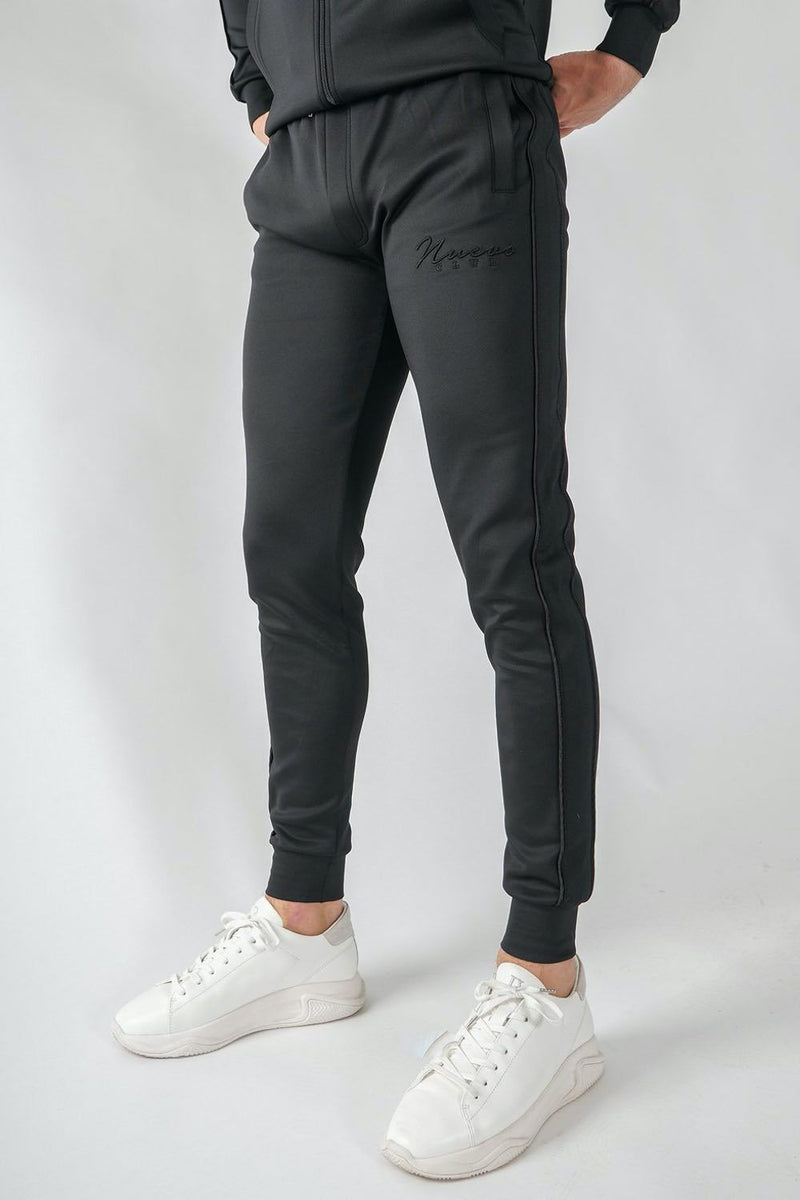 Nuevo Club Stealth Poly Track Pants - Black - 1