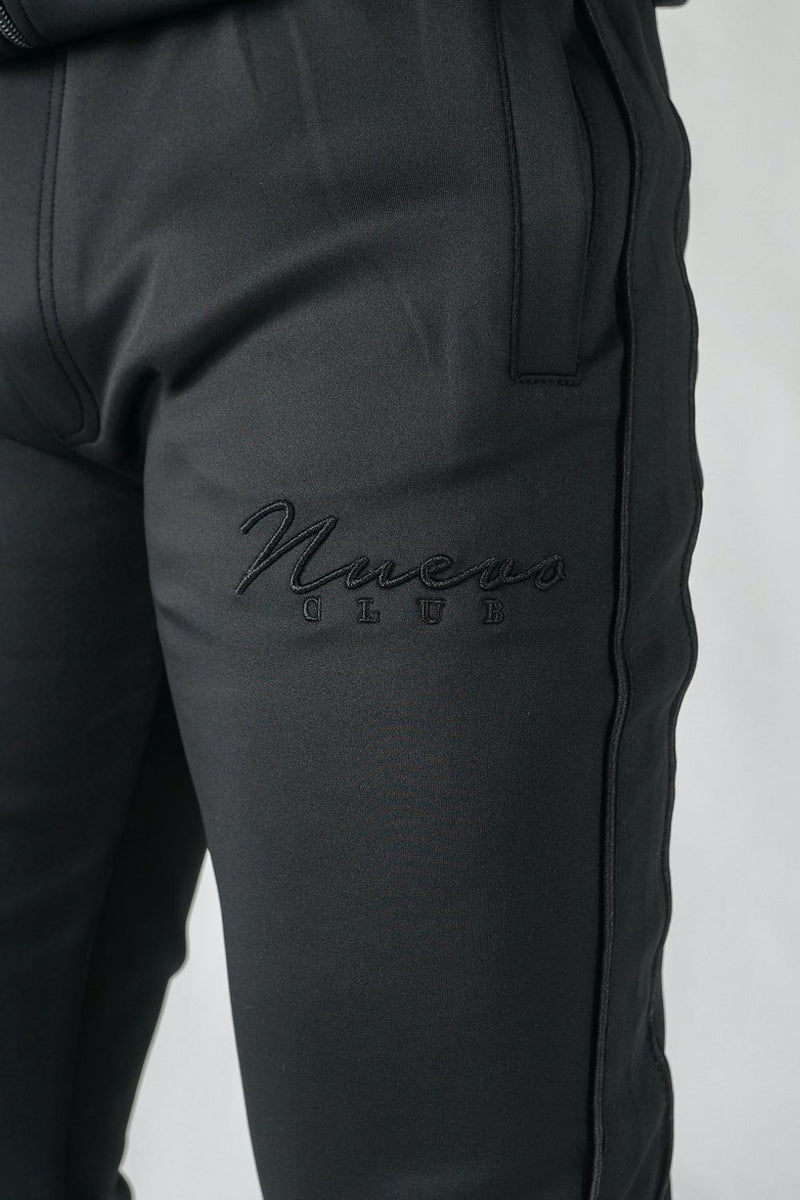 Nuevo Club Stealth Poly Track Pants - Black - 2