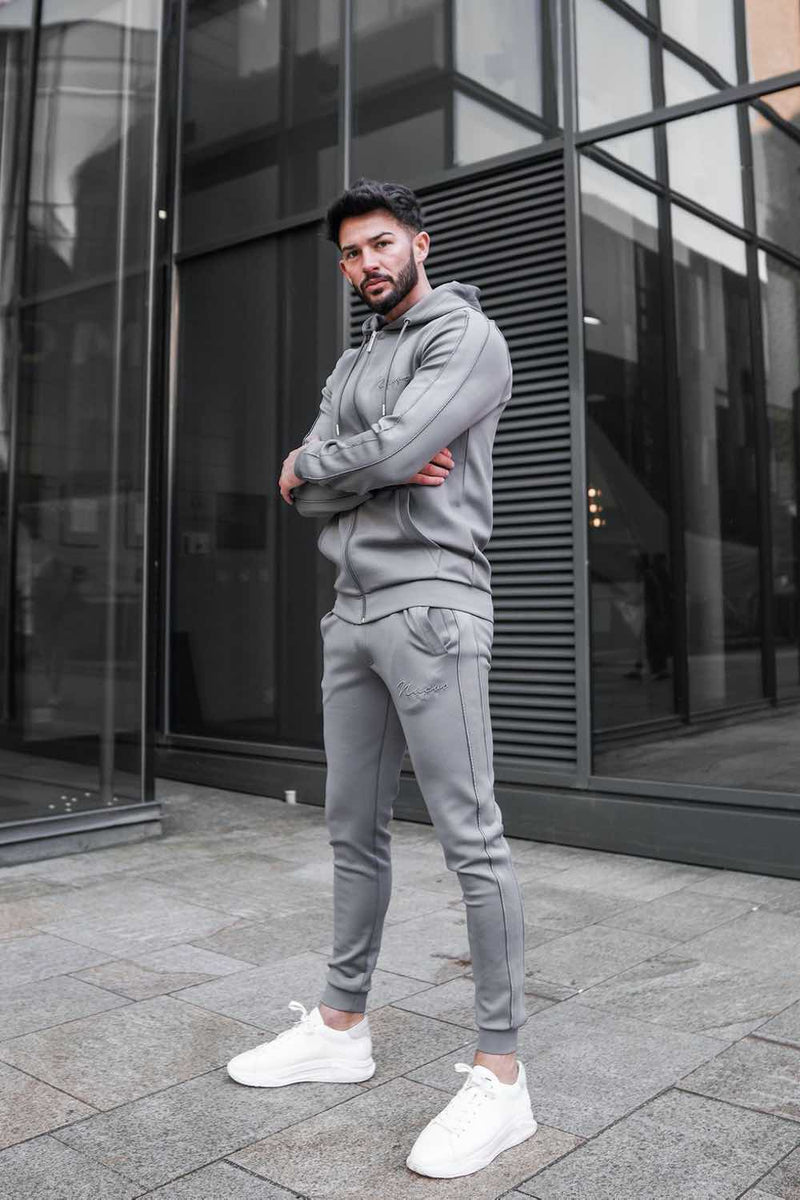 Nuevo Club Stealth Poly Track Pants - Steel Grey