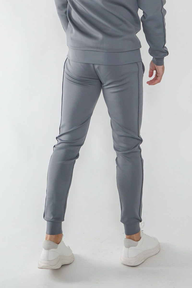 Nuevo Club Stealth Poly Track Pants - Steel Grey - 4