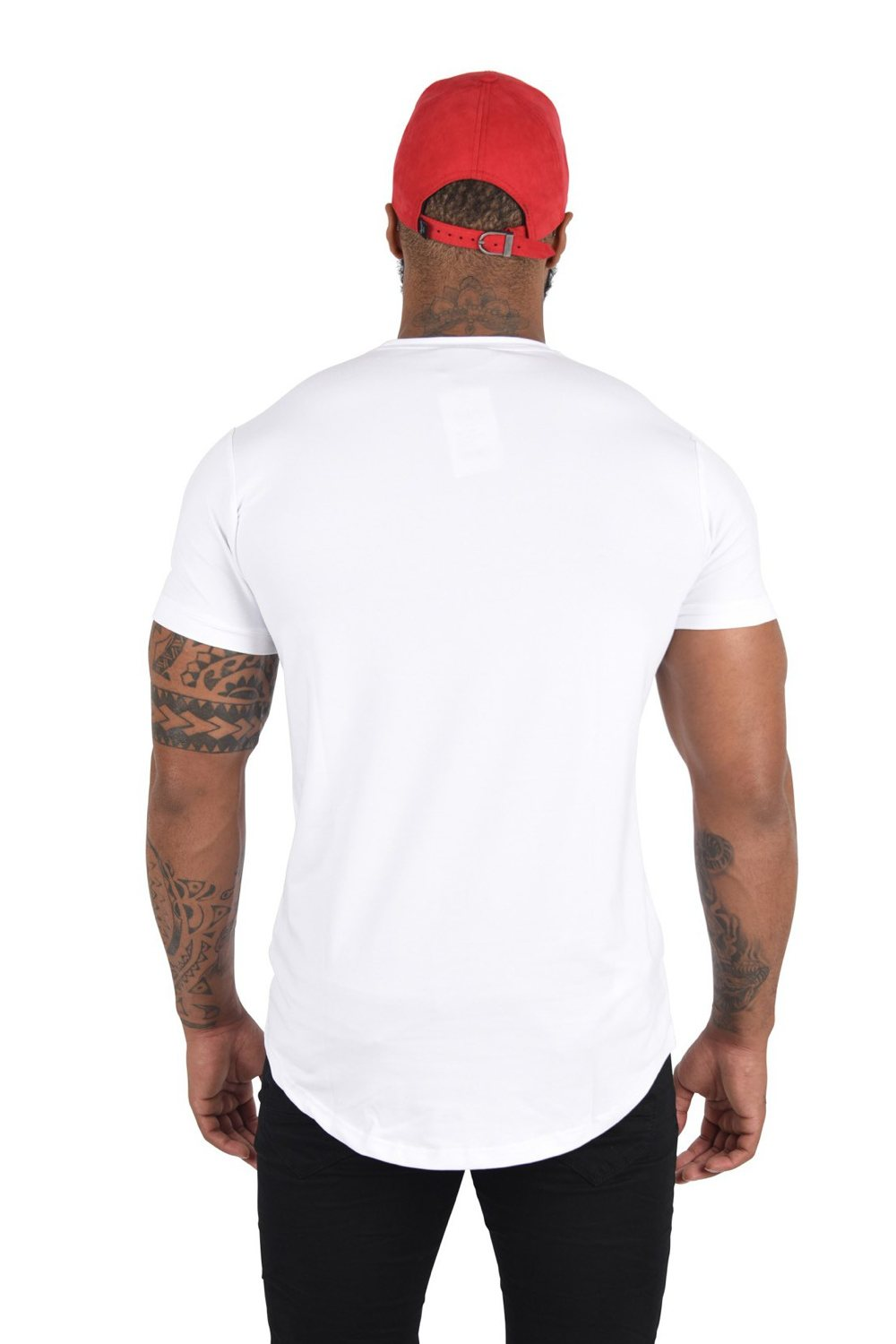 Project X Paris Stripe Tiger T-Shirt - White - 1