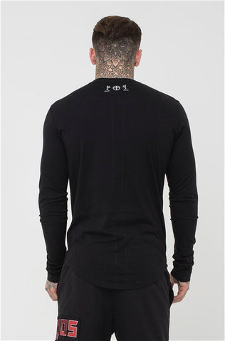 Religion Long Sleeve Tee - Black - 1