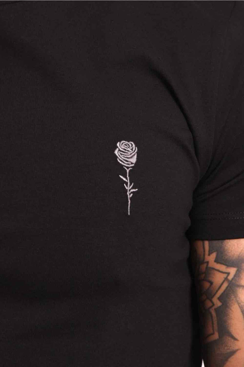 Rose London Back Graphic T-Shirt - Black - 3