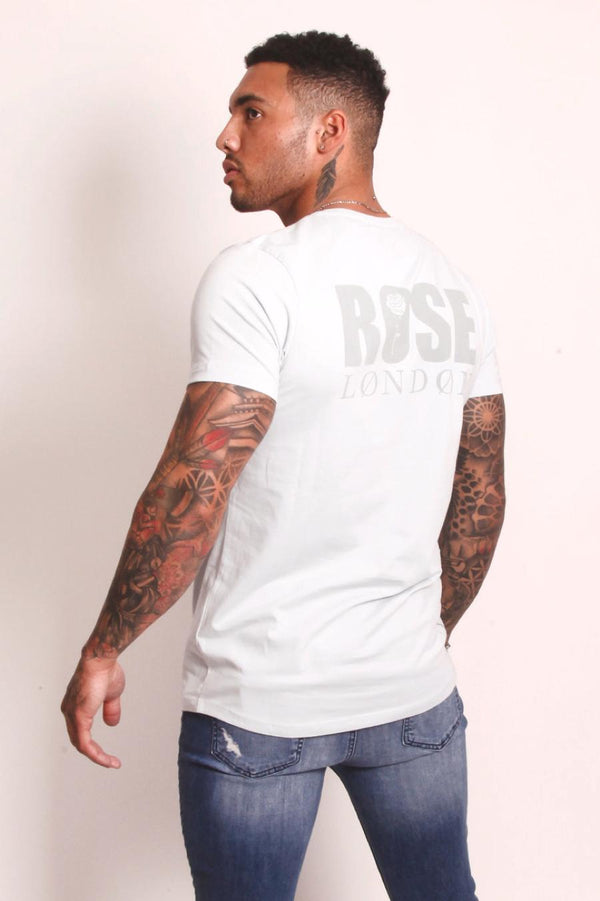 Rose London Back Graphic T-Shirt - White - 4