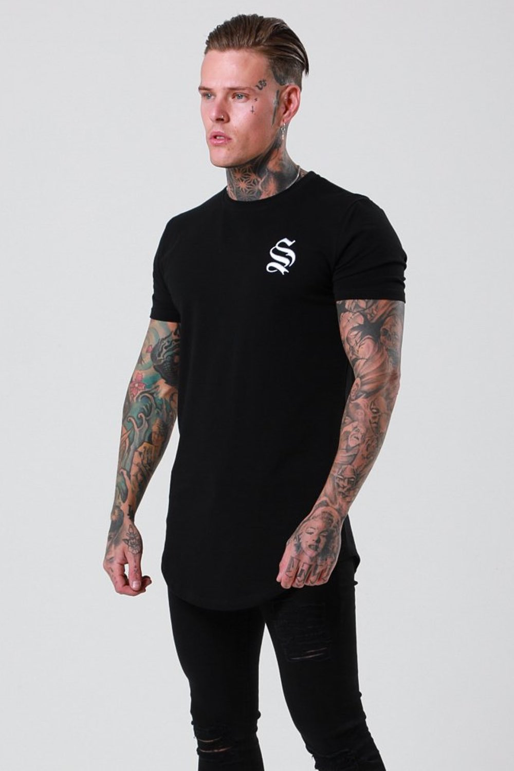 SNRS Core T-Shirt - Black - 1