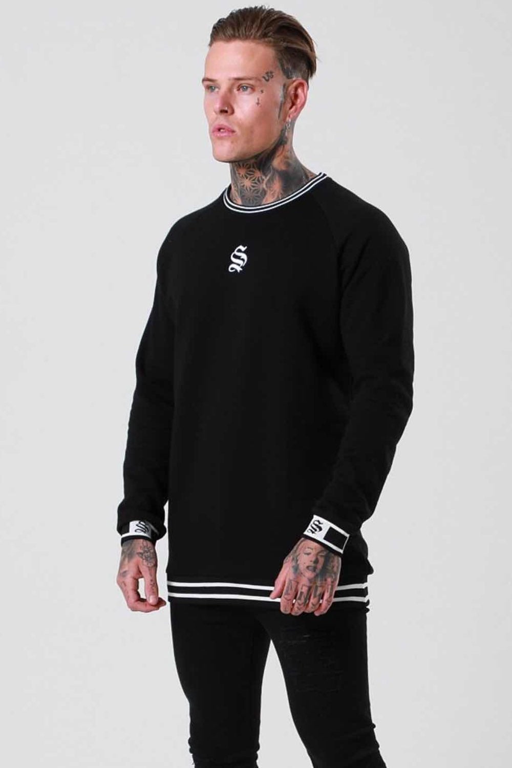 Sinners Attire Hypa Sweater - Black - 1