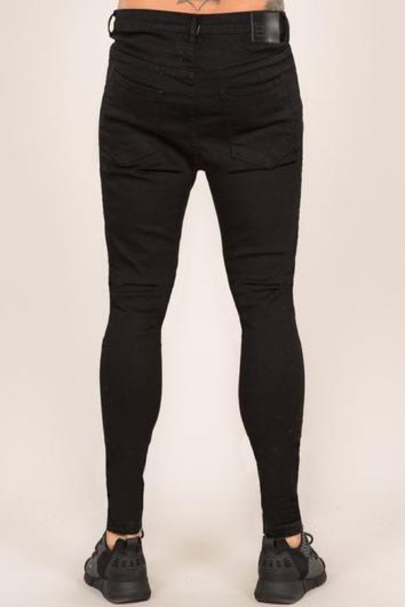 Emulate Super Spray On Skinny Jeans - Black