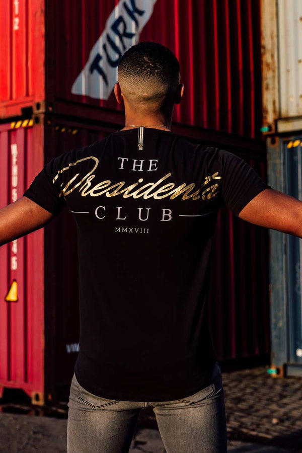 The Presidents Club Blown T-Shirt - Black - 1