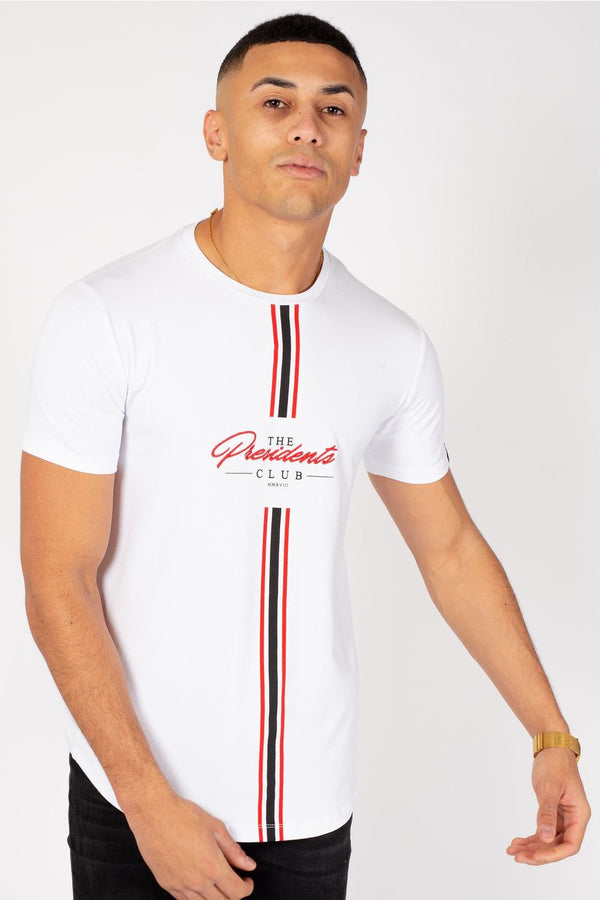 The Presidents Club Boss T-Shirt - White