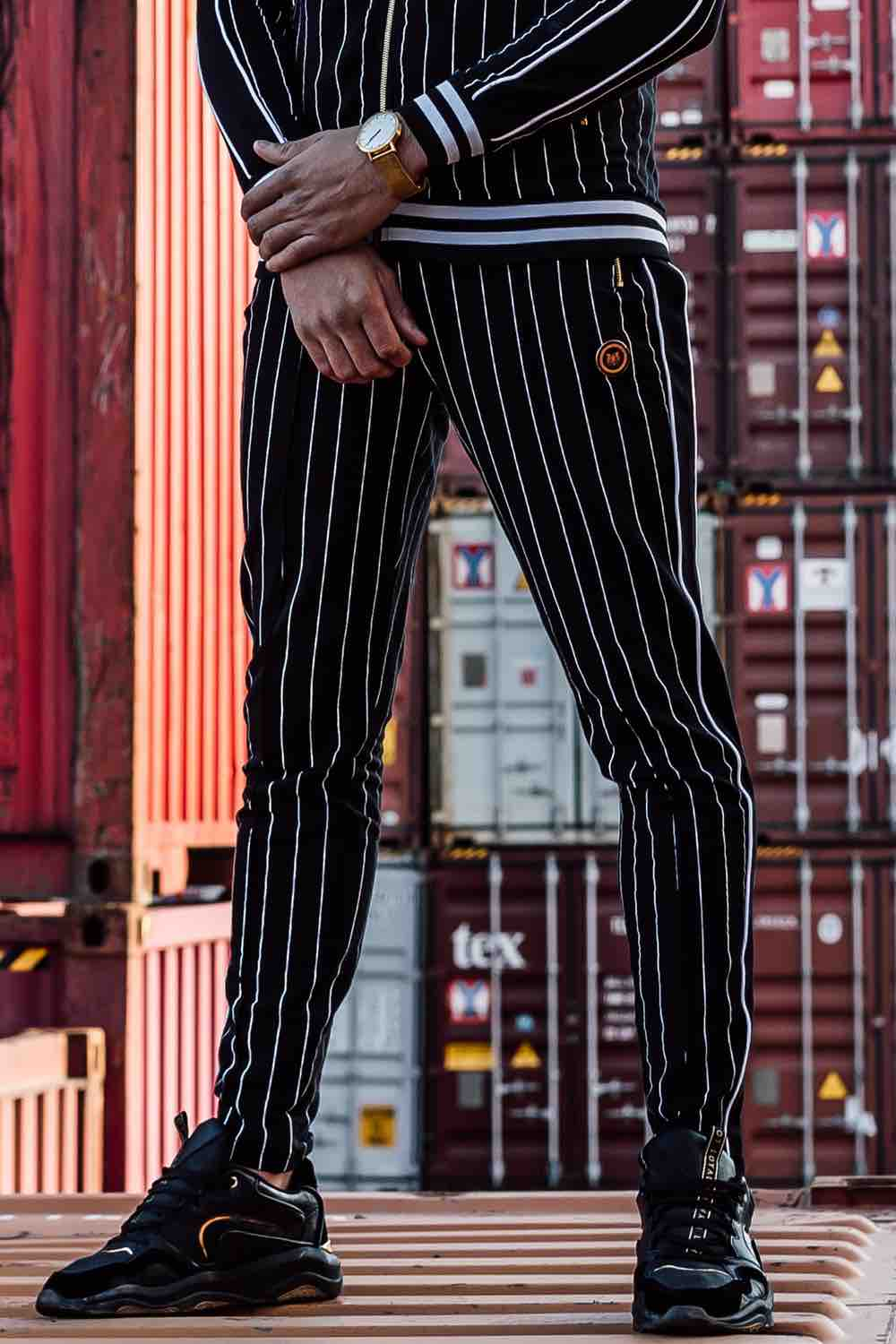 The Presidents Club Formal Joggers - Black