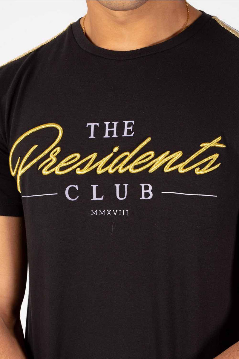 The Presidents Club Signature T-Shirt - Black - 1