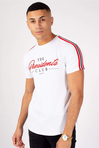 The Presidents Club Signature T-Shirt - White