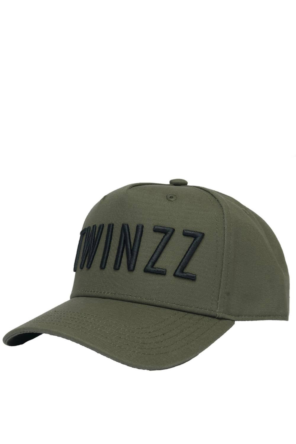 Twinzz 3D Full Trucker Cap - Khaki/Black