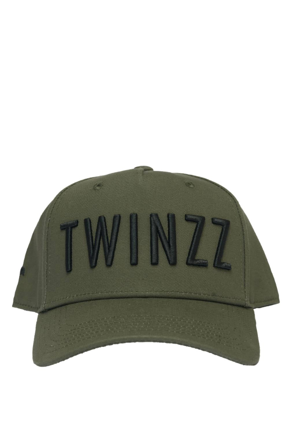Twinzz 3D Full Trucker Cap - Khaki/Black - 1
