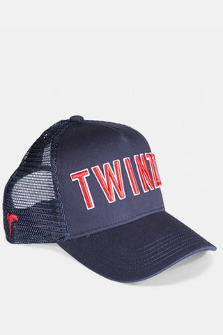 Twinzz 3D Mesh Trucker Cap -  Navy/Red