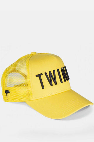 Twinzz 3D Mesh Trucker Cap - Yellow/Black
