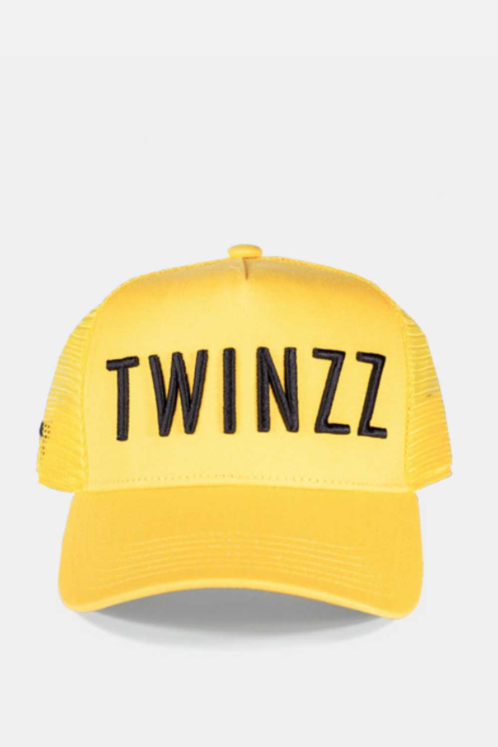 Twinzz 3D Mesh Trucker Cap - Yellow/Black - 1