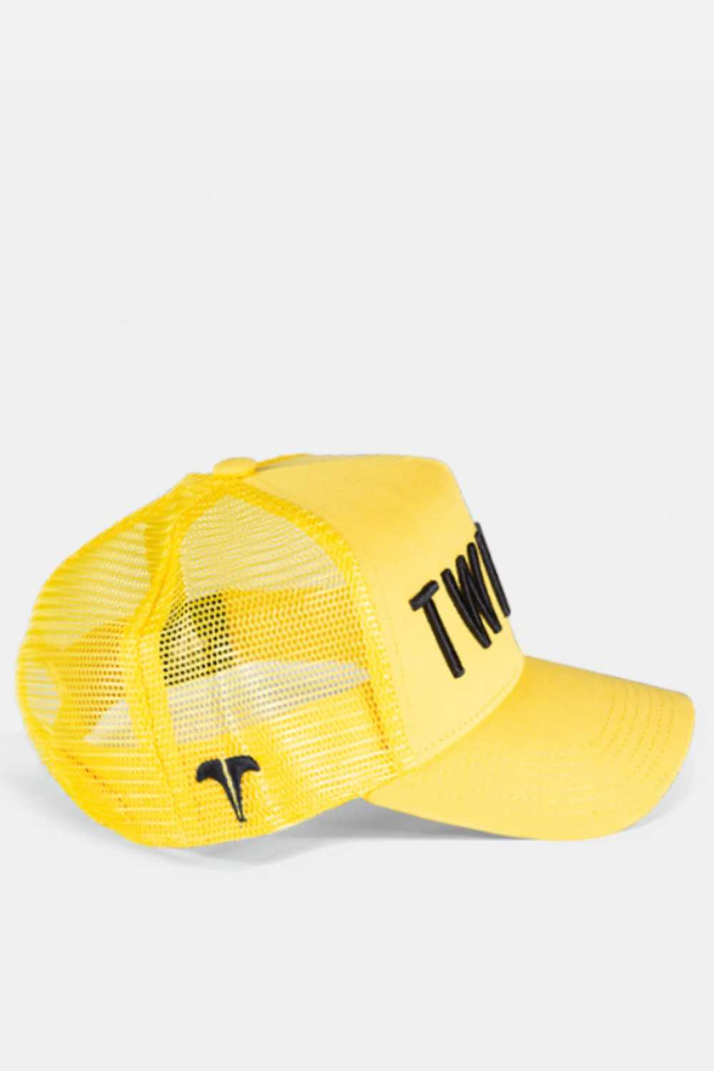 Twinzz 3D Mesh Trucker Cap - Yellow/Black - 2