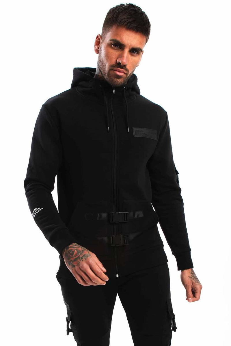 Fresh Couture Nellis Utility Jacket - Black