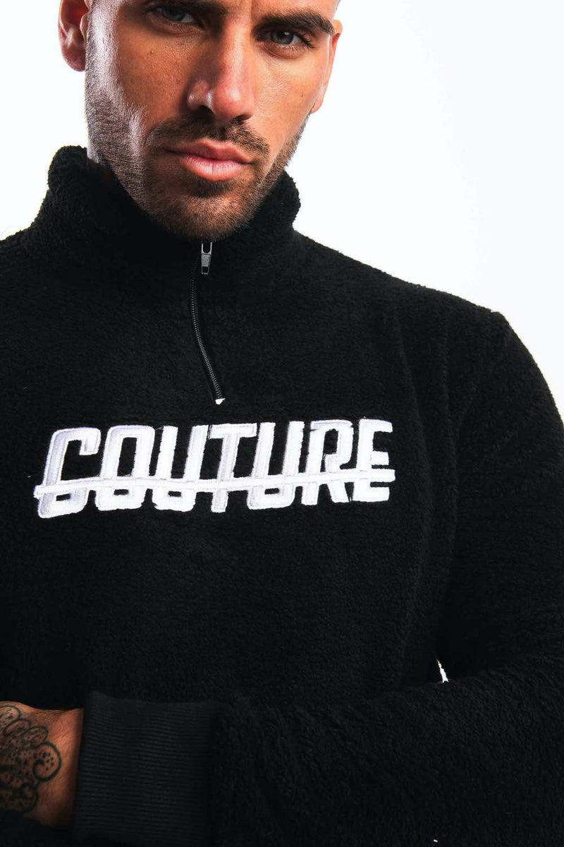 Fresh Couture Colmar 2.0 Quater Zip - Black - 1