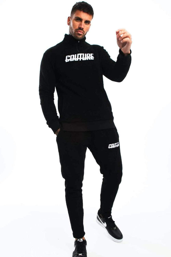 Fresh Couture Colmar 2.0 Tracksuit Pants - Black - 4