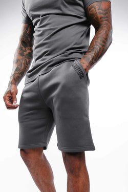 Fresh Couture Mini Strike OG Shorts - Grey - 2