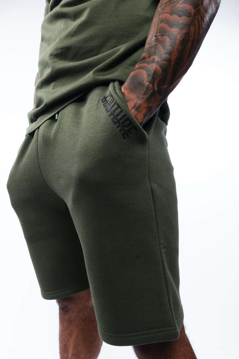 Fresh Couture Mini Strike OG Shorts - Khaki - 3