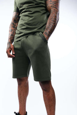Fresh Couture Mini Strike OG Shorts - Khaki