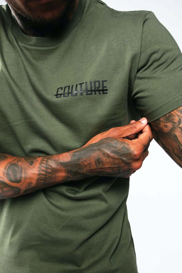 Fresh Couture Mini Strike OG T-Shirt - Khaki - 1