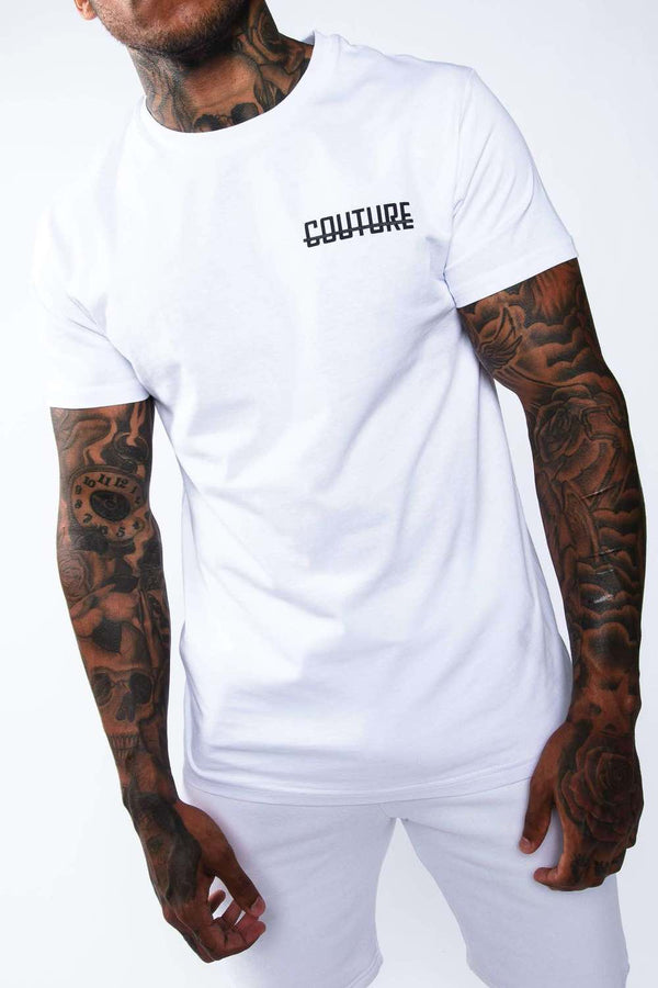 Fresh Couture Mini Strike OG T-Shirt -  White