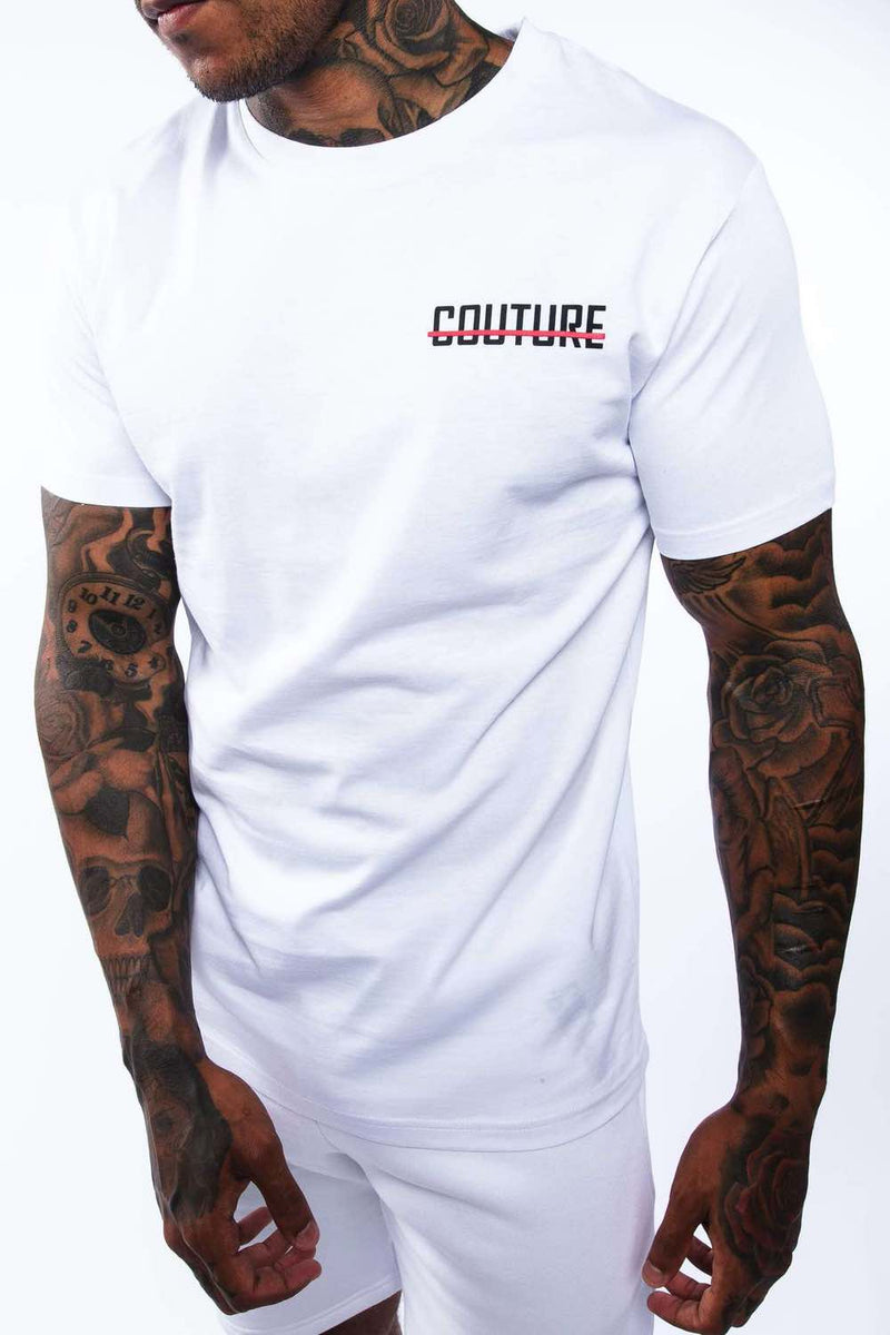 Fresh Couture Mini Strike OG T-Shirt - White/Red - 2