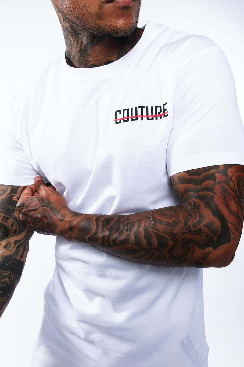 Fresh Couture Mini Strike OG T-Shirt - White/Red - 1