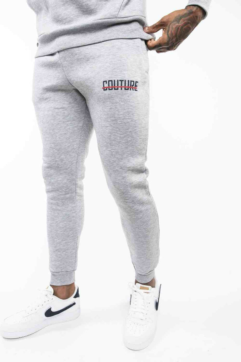 Fresh Couture OG Joggers - Grey/Obsidian