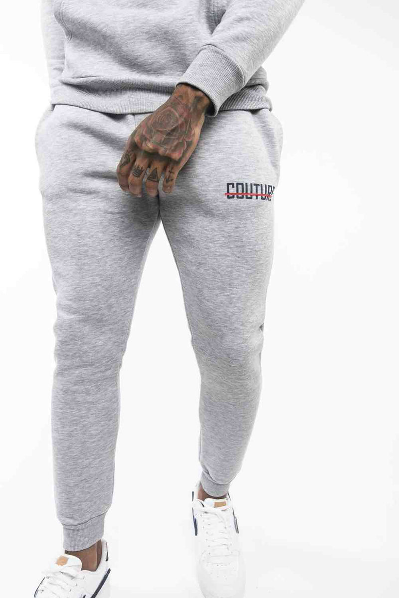 Fresh Couture OG Joggers - Grey/Obsidian - 1