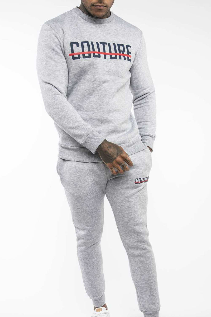 Fresh Couture Strike OG Sweatshirt - Grey/Obsidian - 2