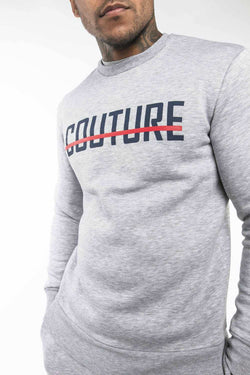 Fresh Couture Strike OG Sweatshirt - Grey/Obsidian