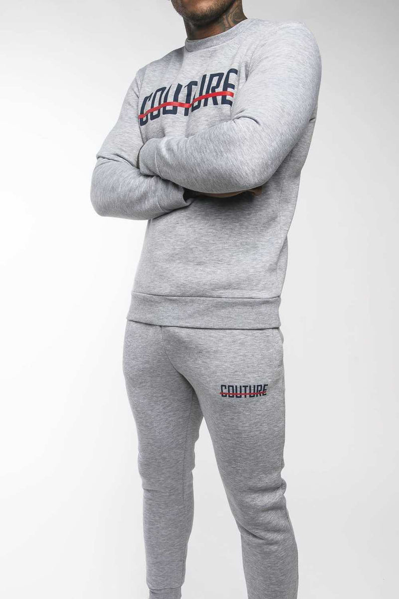 Fresh Couture Strike OG Sweatshirt - Grey/Obsidian - 1