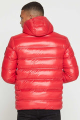 Good For Nothing Climate Puffer Jacket - Red - 3